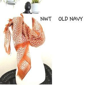 NWT🍂OLD NAVY fall orange theme scarf